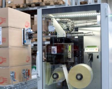 LA 4050P - апликатор за палети